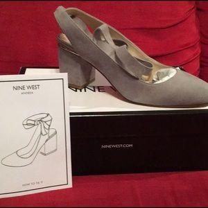 Nine West Andrea block heels